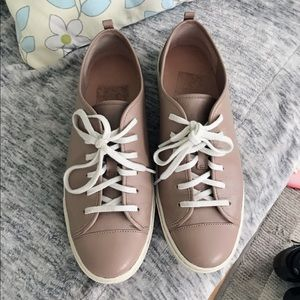 Cole haan  leather flat sneakers